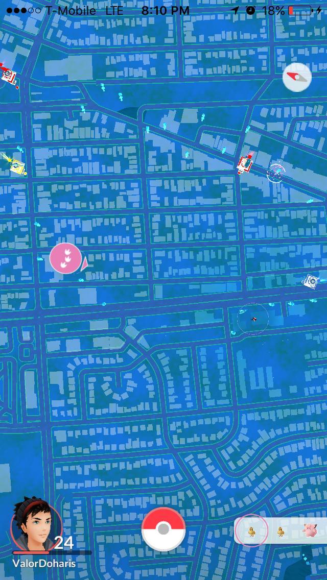 pokemon go radar 1 - Pokemon Go se dote d'un radar dans sa nouvelle mise à jour !