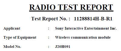 radio test report