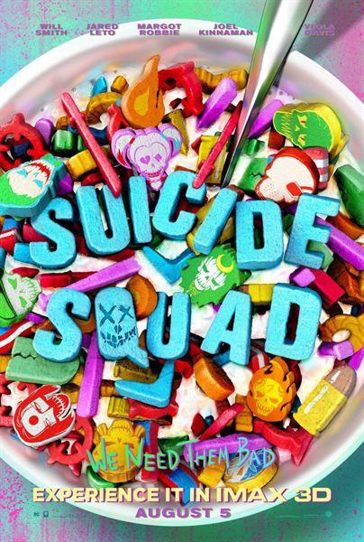 suicide squad cereales