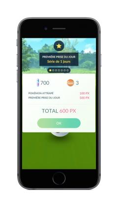 First Catch FR 240x420 - Pokémon Go va intégrer des bonus quotidiens