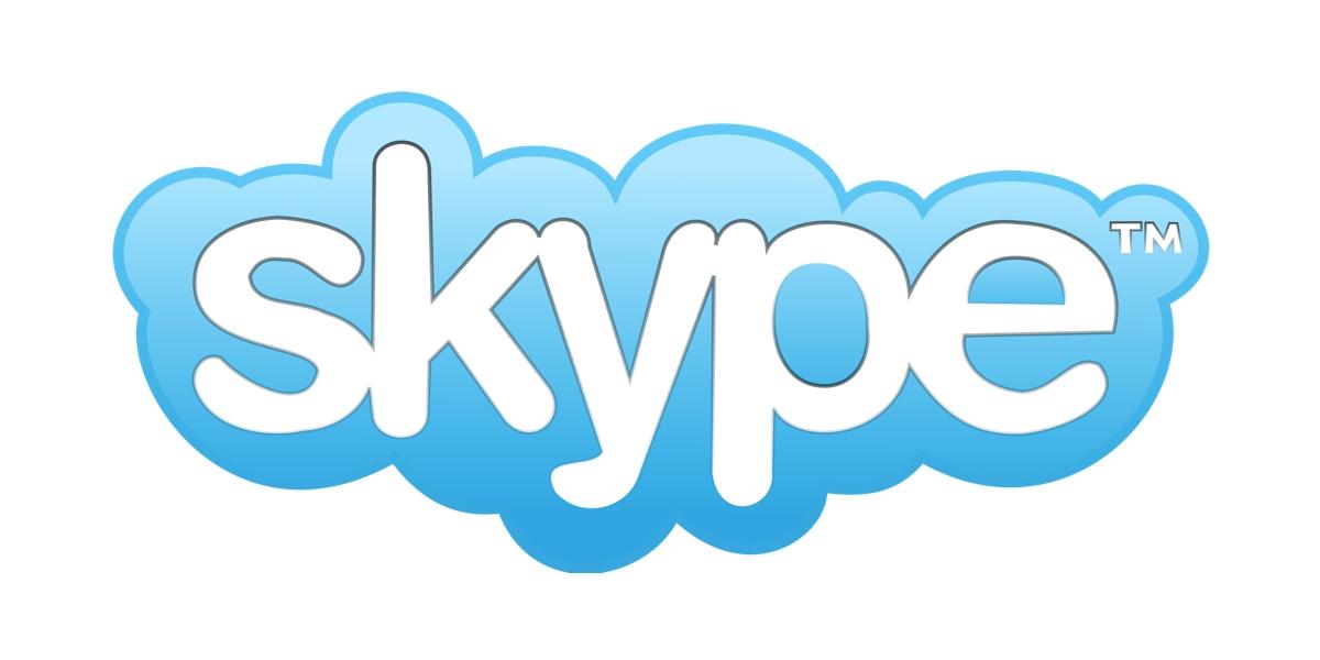 logo skype - Microsoft a annoncé que les utilisateurs de Skype pourront désormais envoyer de l'argent dans des conversations à l'aide de PayPal