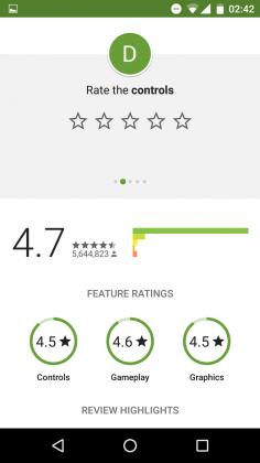 notation jeu play store 03 236x420 - La notation des jeux sur le Play Store évolue