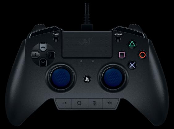 Raiju visuel 563x420 - Razer annonce sa manette Raiju de compétition pour PlayStation 4