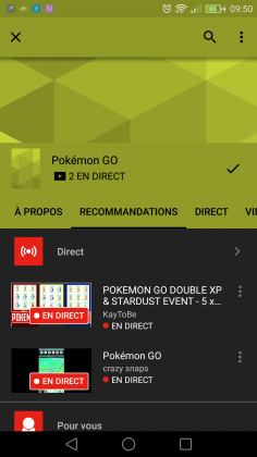 YouTube Gaming 2 236x420 - YouTube Gaming en France... enfin !