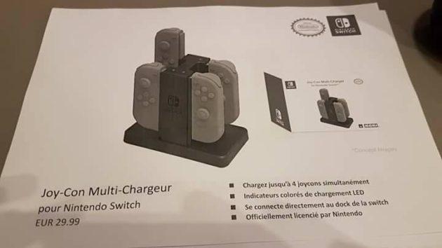 accessoire 07 - Les accessoires de la Switch en fuite