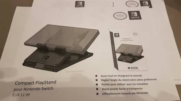 accessoire 09 - Les accessoires de la Switch en fuite