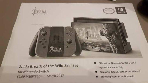 accessoire 10 - Les accessoires de la Switch en fuite