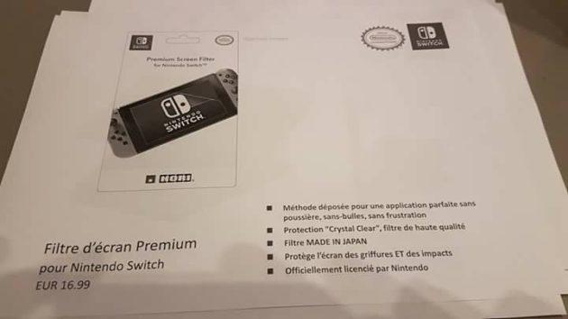 accessoire 11 - Les accessoires de la Switch en fuite