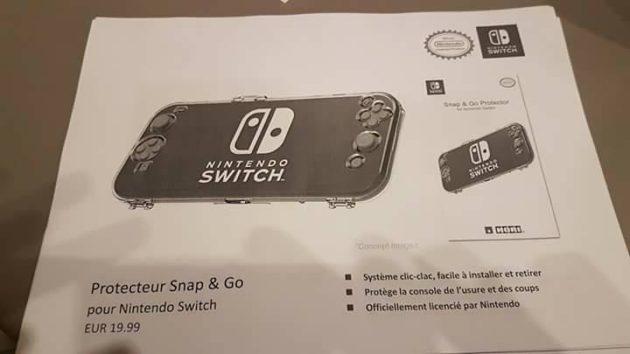 accessoire 14 - Les accessoires de la Switch en fuite