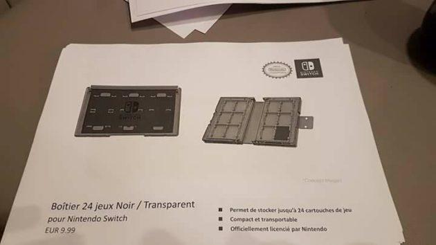 accessoire 15 - Les accessoires de la Switch en fuite