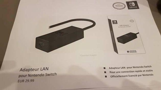 accessoire 17 - Les accessoires de la Switch en fuite