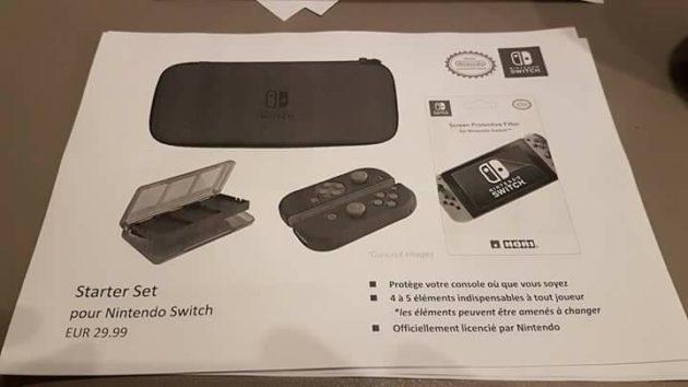 accessoire 22 - Les accessoires de la Switch en fuite