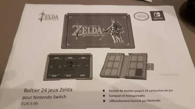 accessoire 23 - Les accessoires de la Switch en fuite