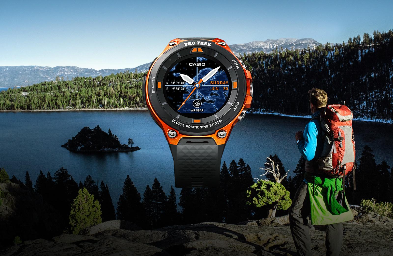 Une montre Android Wear 2.0 chez Casio