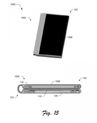surface phone 03 331x420 - Et si le Surface Phone était pliable ?