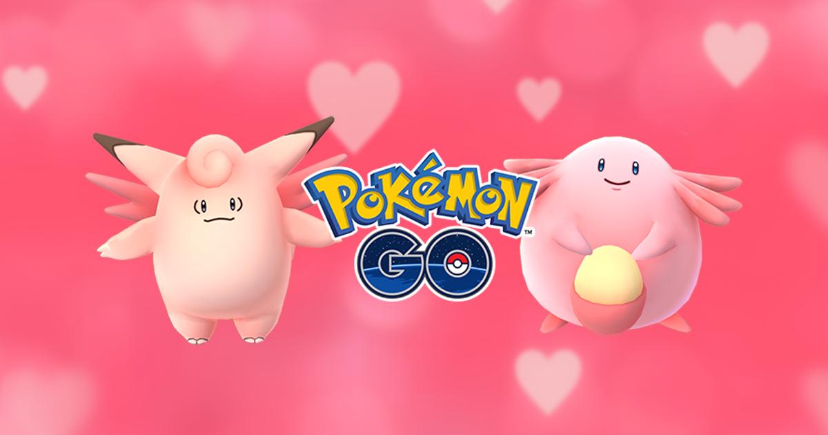 Pokémon GO fête aussi la Saint-Valentin avec un évènement spécial