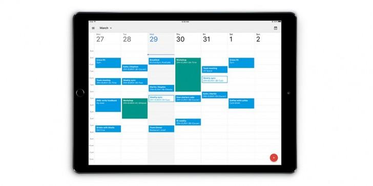 L'application Google Calendar arrive enfin sur iPad