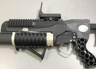 RAMBO : lance-grenades imprimé en 3D