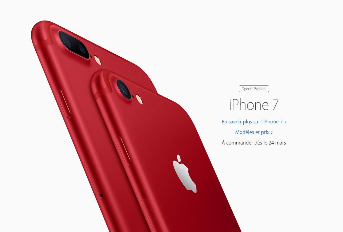 apple lance un nouvel ipad un iphone 7 rouge et des. Black Bedroom Furniture Sets. Home Design Ideas