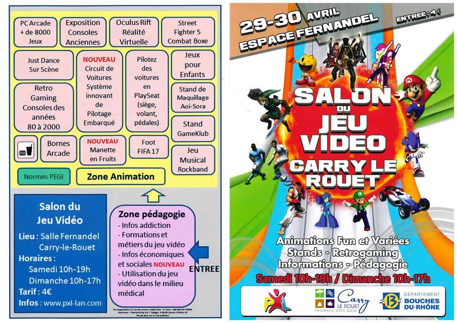 Concours Salon du Jeu Vidéo à Carry-le-Rouet