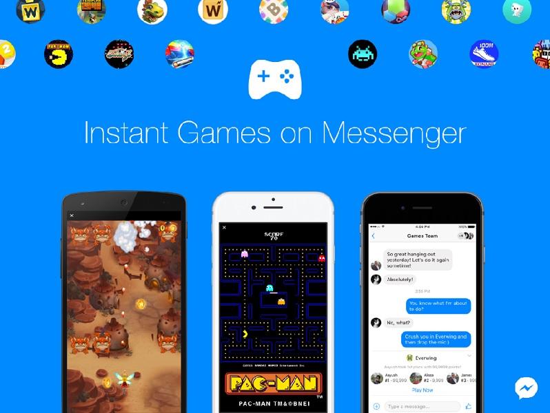 Messenger lance officiellement les Instant Games à tous