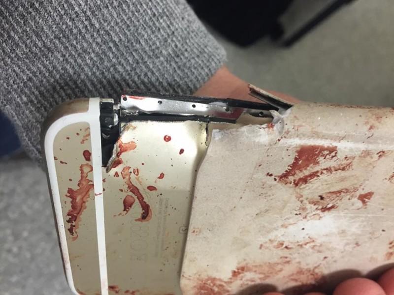 iPhone 6s attentat de Manchester