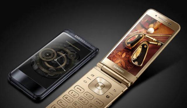 Samsung téléphone à clapet
