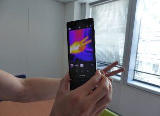 Caméra Flir One Pro test