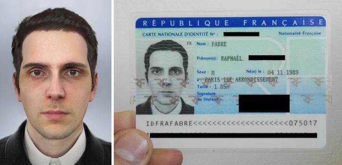 avec un mod u00e8le 3d comme photo  cet homme parvient  u00e0 avoir une carte d u0026 39 identit u00e9