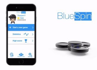 Hand spinner connecté BlueSpin