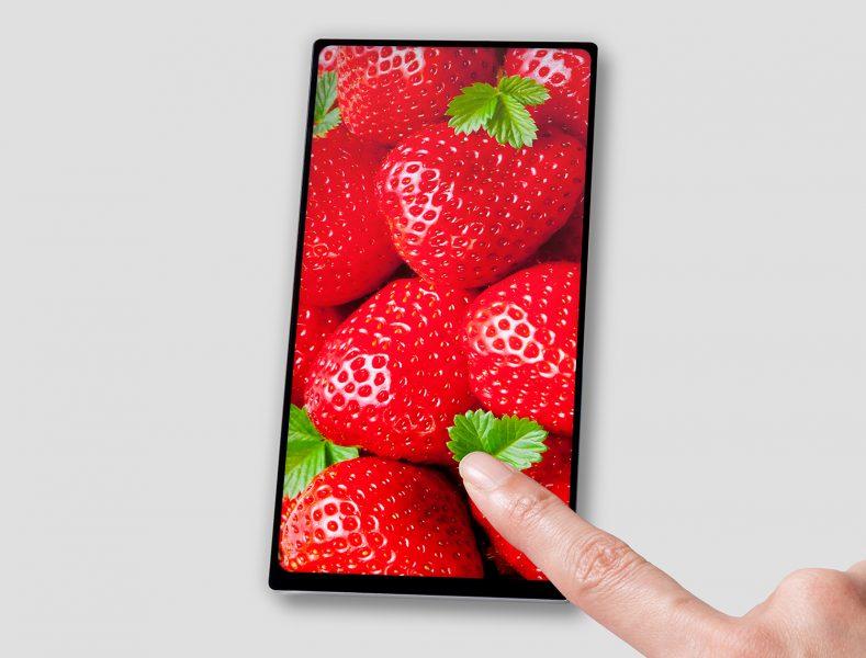 Smartphone Sony sans bordures