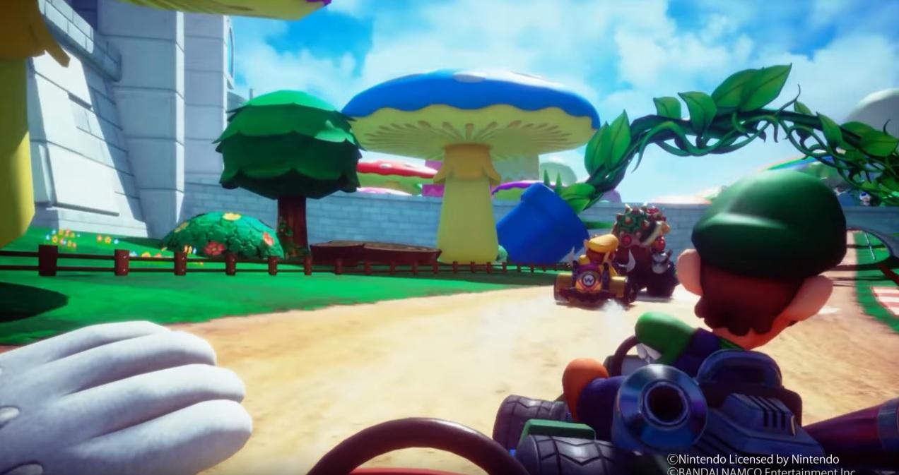 Surprise, voici Mario Kart Arcade GP VR — Réalité virtuelle