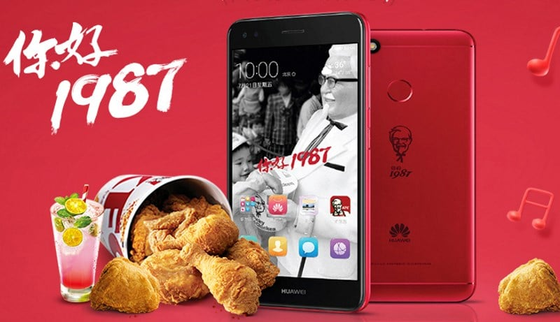 KFC smartphone