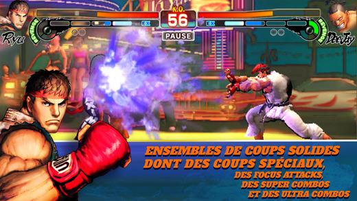 Nouveau sur votre iPhone : Street Fighter IV Champion Edition