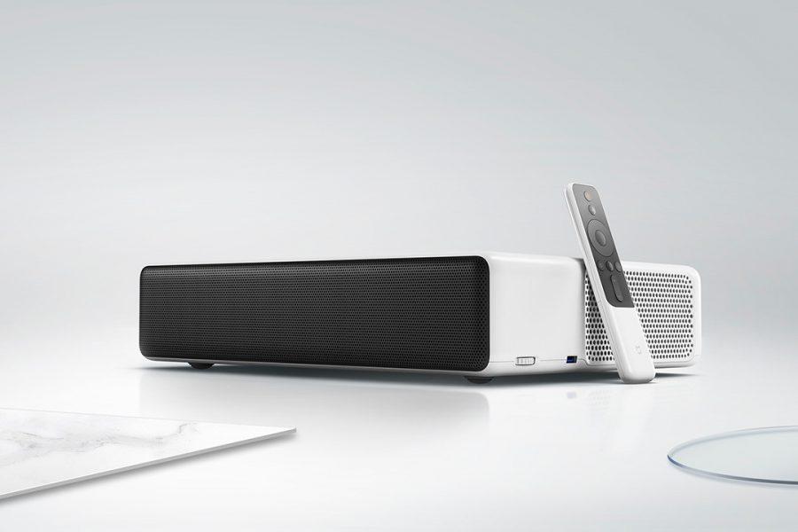 le xiaomi mi laser projector un vid oprojecteur focale courte. Black Bedroom Furniture Sets. Home Design Ideas