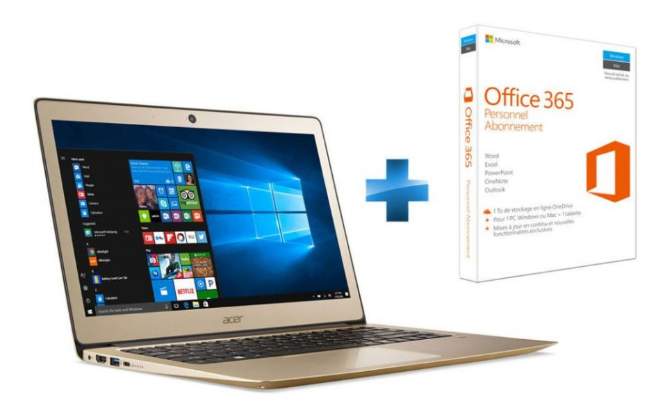 Acer Swift 3 SF314-51-302G Or + Microsoft Office 365 Personnel