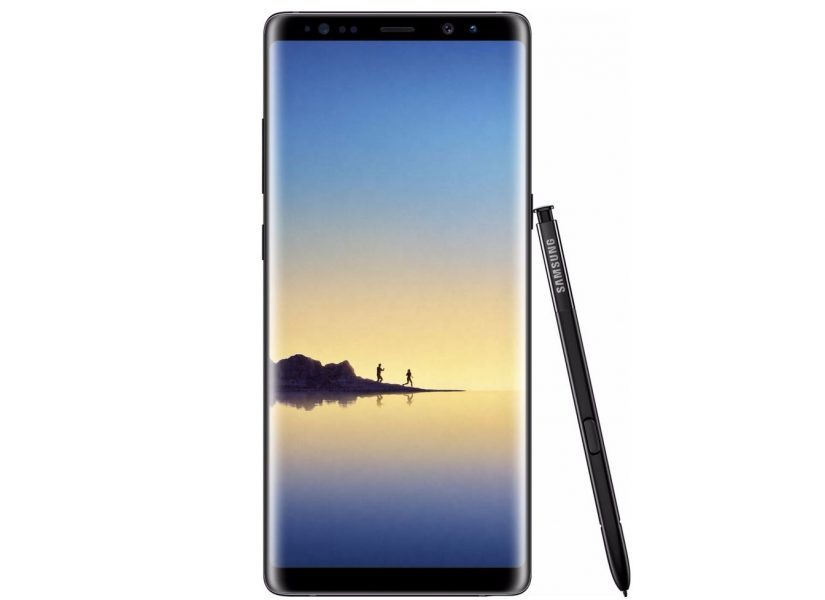 Samsung Galaxy Note 8 officiel