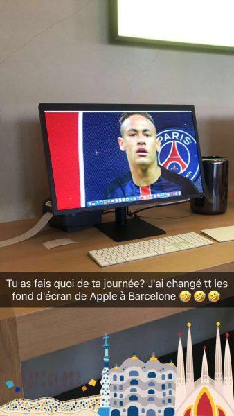 Twitter troll neymar 338x600 - La blague hilarante d'un supporter du PSG dans un Apple Store à Barcelone