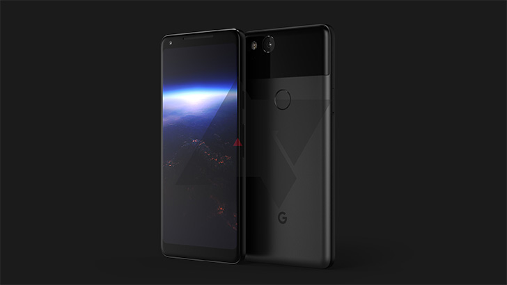 Google Pixel XL 2 fuite