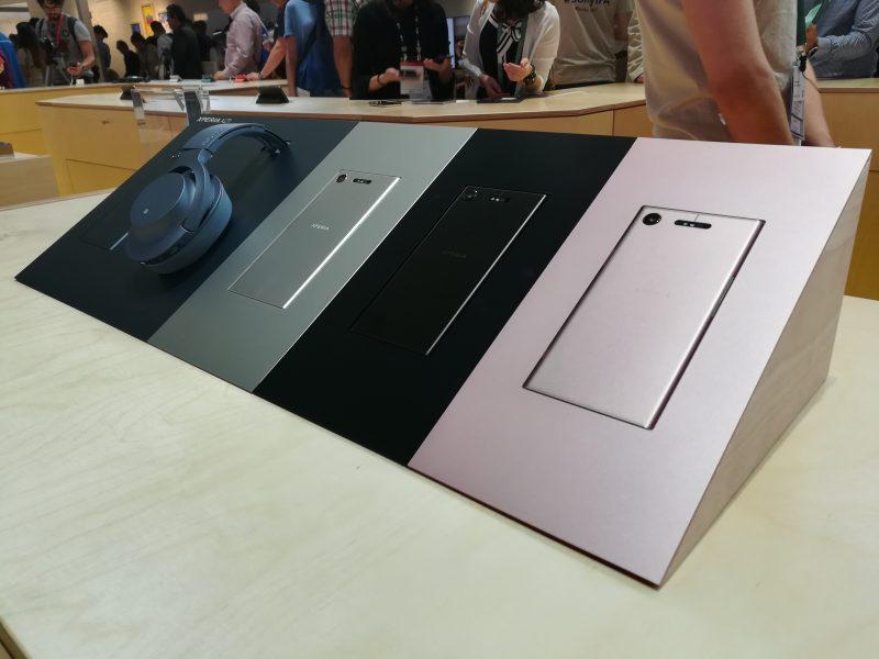 Sony Xperia XZ1 prise en main IFA 2017