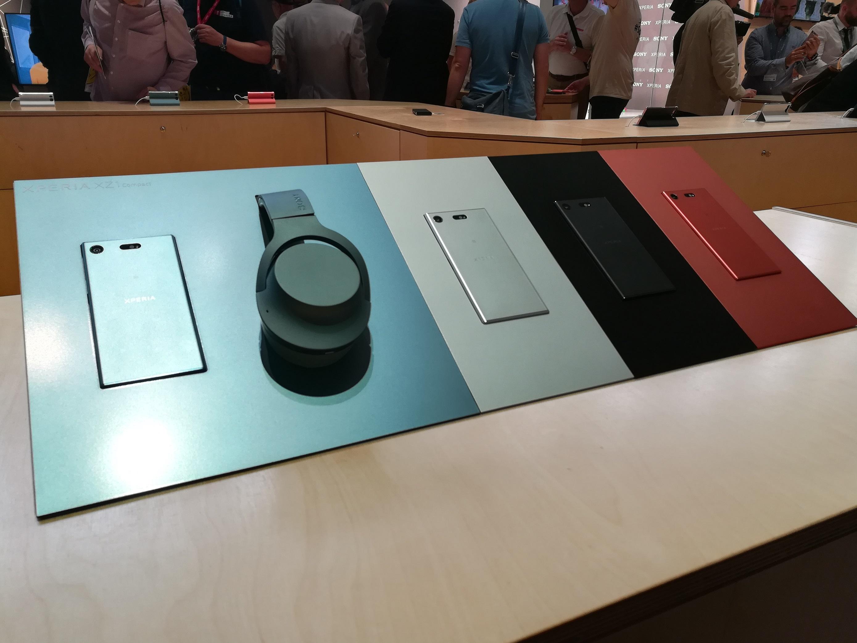 Sony Xperia XZ1 Compact prise en main IFA 2017