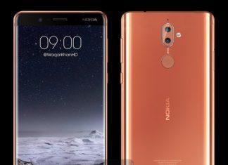 Nokia 9 croquis de Waqar Khan