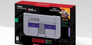 Version SNES de la New Nintendo 3DS XL
