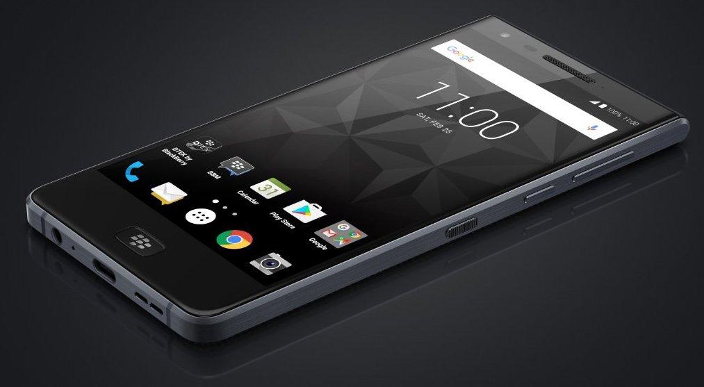 Le nouveau smartphone tout tactile de BlackBerry en fuite — Motion