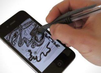 iPhone stylet