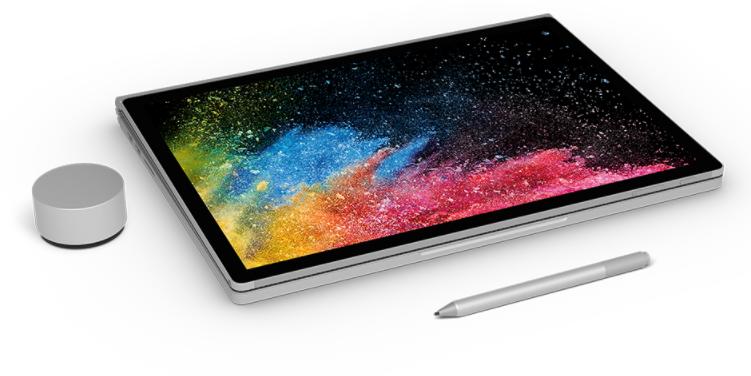 Microsoft mise sur la puissance pour son Surface Book 2