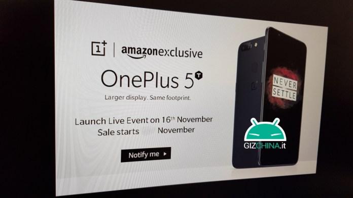 OnePlus 5T date de présentation en fuite