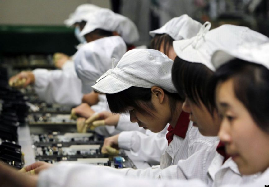 Apple iPhone X travail en Chine