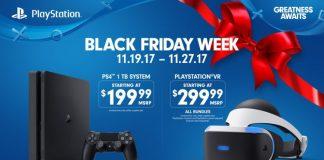 Black Friday 2017 Sony PS VR Xbox