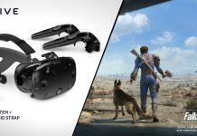 Black Friday 2017 bundle HTC Vive Fallout VR casque VR Deluxe Audio Strap